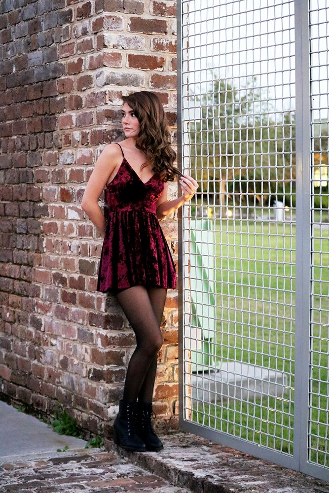 89e93f55823 How to wear a velvet romper  They re more versatile than you d think! Style  tips for wearing velvet rompers