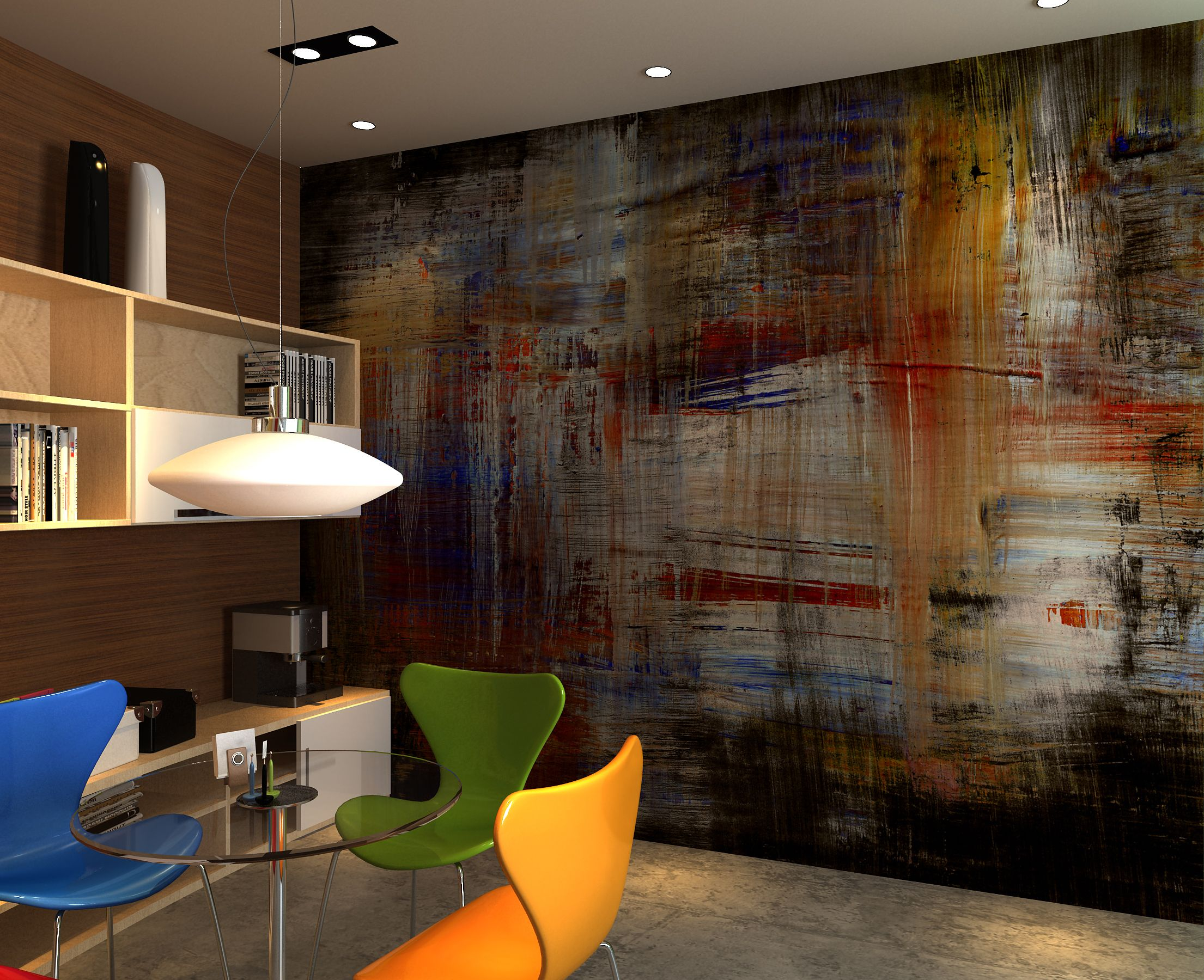 Disorder wall mural wallpaper photowall home decor