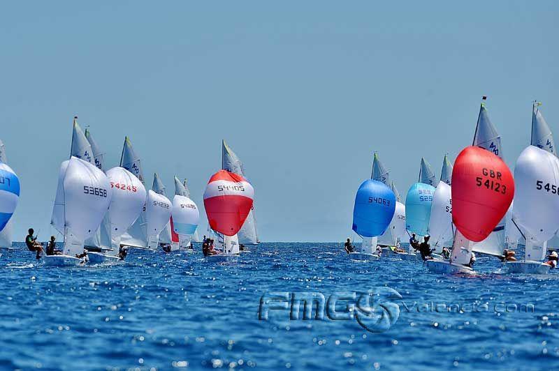 world championships 420 sailing fotos fmg pinterest valencia