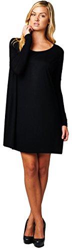 Reborn J Casual Long Sleeve Feminent Dress Small Black Reborn J http://www.amazon.com/dp/B00OPJ0598/ref=cm_sw_r_pi_dp_Y.E7ub08X32M7