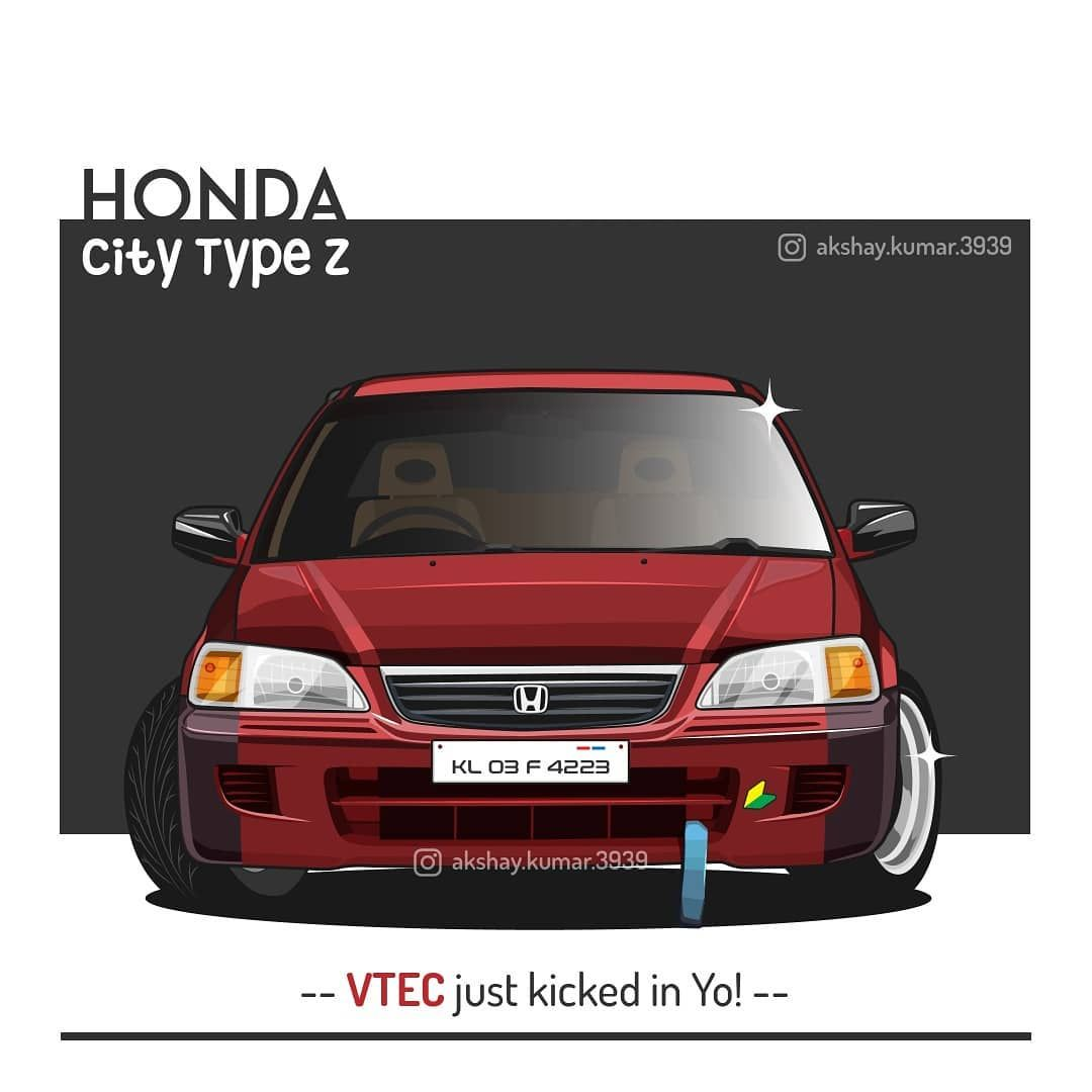 Happy Easter Sunday Who S Up For A Vtec Ride When It Comes To Owning A Honda This Is The One To Drive Honda City Type Z Vec Modifikasi Mobil Mobil Gambar