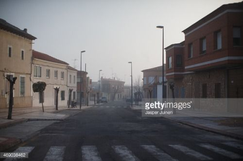 VILLACANAS, SPAIN - DECEMBER 22: An empty street on December... #villacanas: VILLACANAS, SPAIN - DECEMBER 22: An empty street… #villacanas