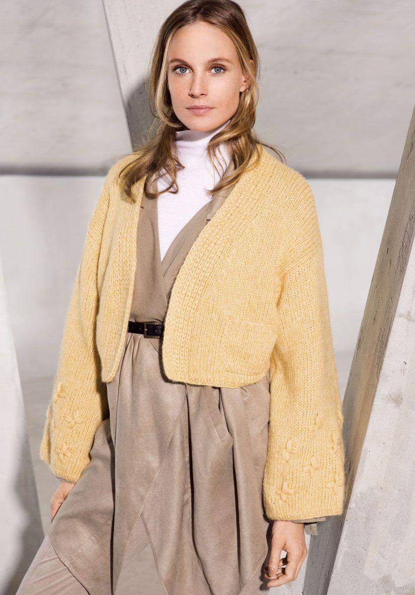 Lana Grossa JACKE Brigitte No. 2   DAS IST TREND 2017   Modell 15  