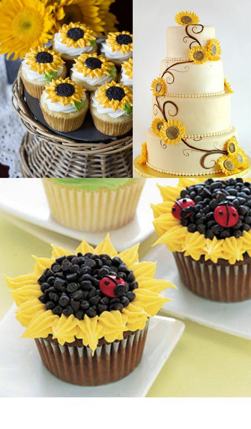Decoration} Sunflowers | Yellow Wedding Ideas | by katecouples ...