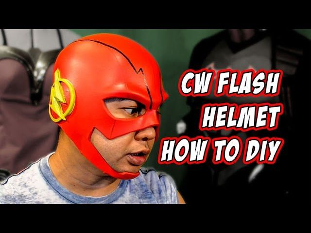 Flash CW How To Foam Helmet Cosplay Costume - Video --> http://www.comics2film.com/flash-cw-how-to-foam-helmet-cosplay-costume/  #TheFlash