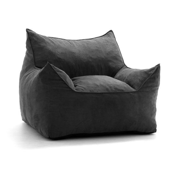 Bean Bag Lounger is part of Bean bag lounger - A cousin to the everpopular recliner, bean bags are a great way to take your relaxation to the next level  This design improves upon the traditional, freeform bag design by adding some structure and encouraging sitters to really kick back  Made in the USA, this design measures 42'' H x 32'' W x 40'' D and fits right into a lounge or game room  This design may take a few days to expand to its intended size