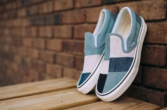 vans patchwork classic slip on nz