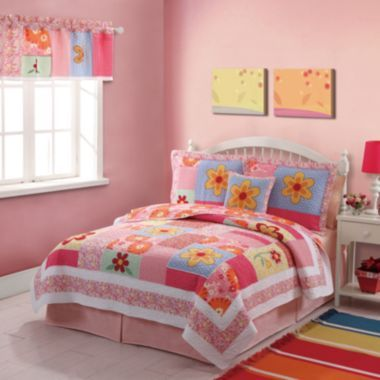GIRLS LIKE THIS ONE Olivia Quilt Set - JCPenney | girls room ...