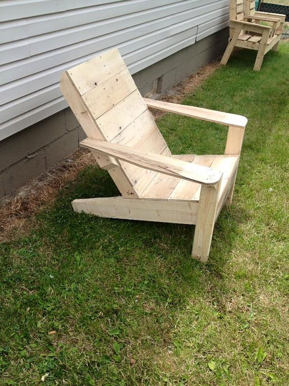 Comfortable Adirondack Chairs, Built In Cup Holders. Stained For Outdoor  Use, Weather Resistance. Pressure Treated Lumber Is Used.