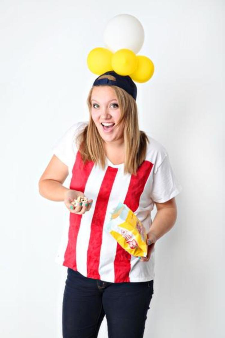Party poppin' popcorn box costume! | Best Popcorn ideas