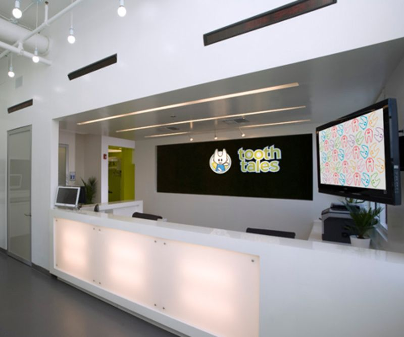 Traditionally most dental offices are cold sterile - Dental office interior design ideas ...