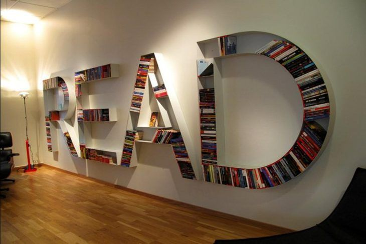 24 Libreros de pared completa