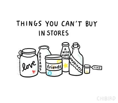 You can't buy...