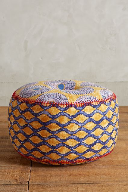 Kaneena Pouf Anthropologie Poufs Pinterest Home New Anthropologie Pouf