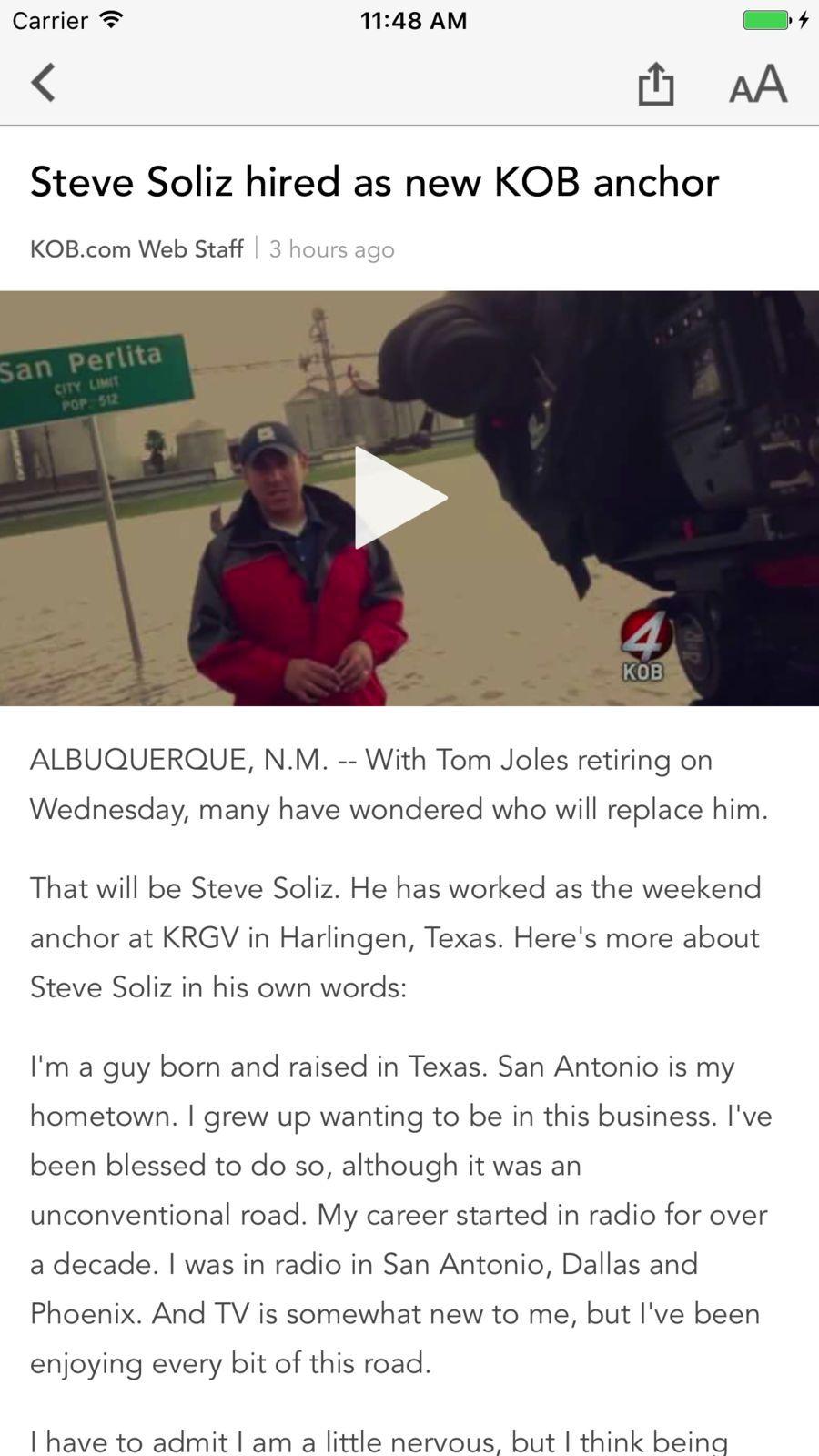 KOB 4 Albuquerque, New Mexico #Weather#News#apps#ios | Game