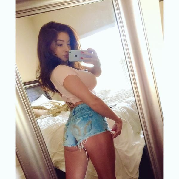 Latina In Short Shorts