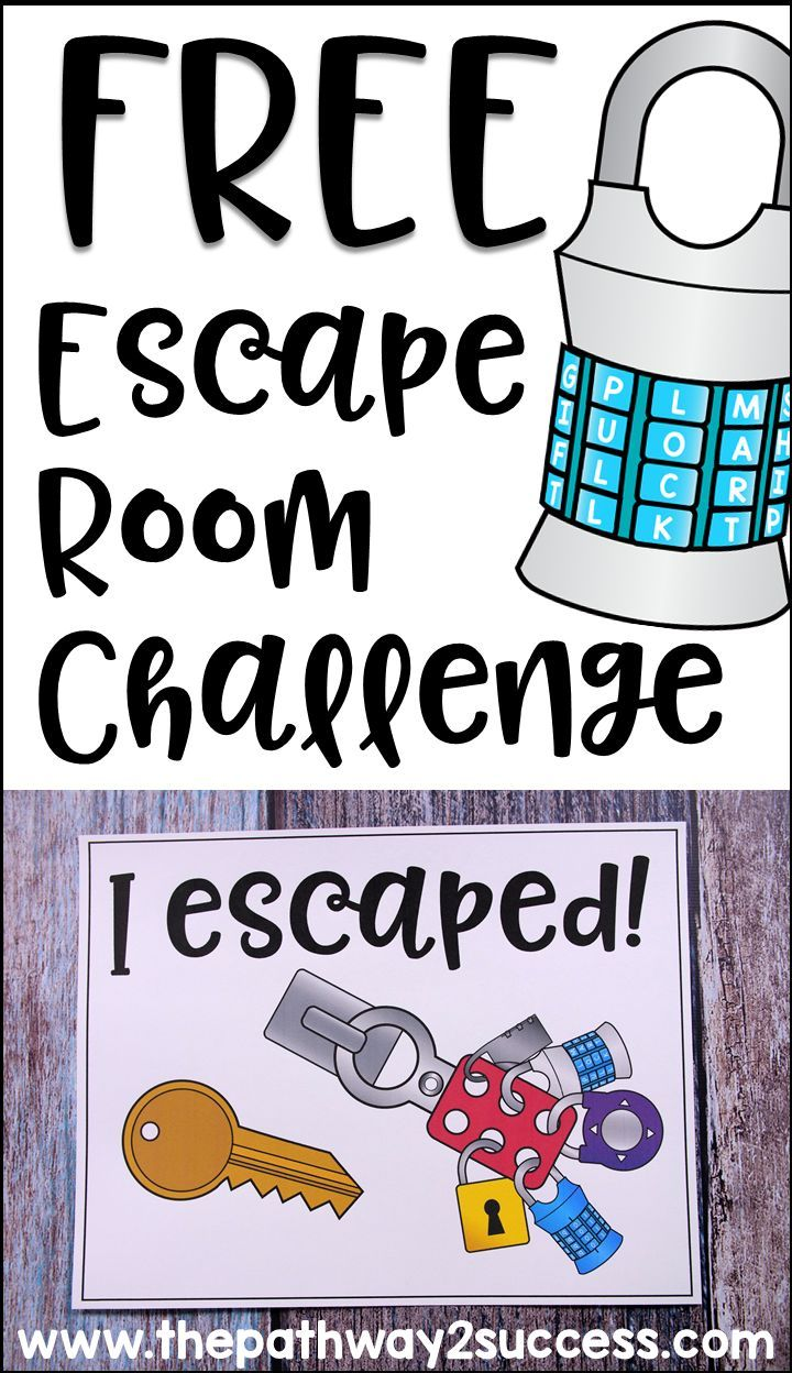 Selective image regarding free printable escape room kit