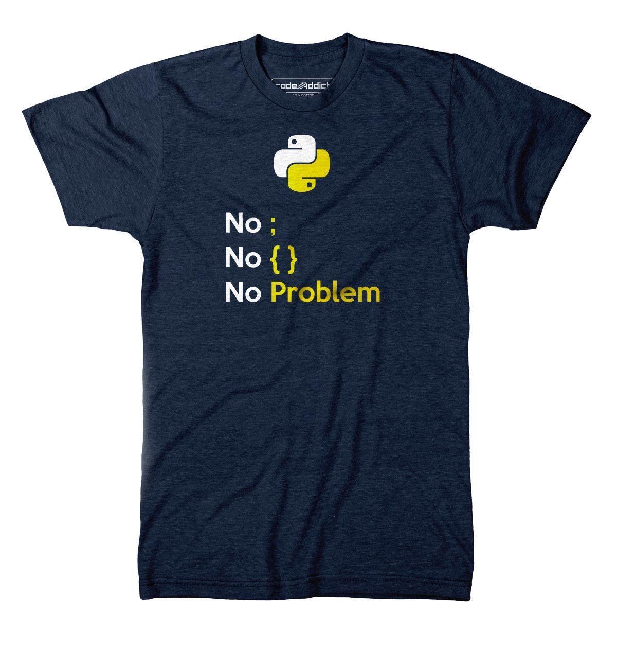 Python Programmer Lover T-Shirt codeAddict