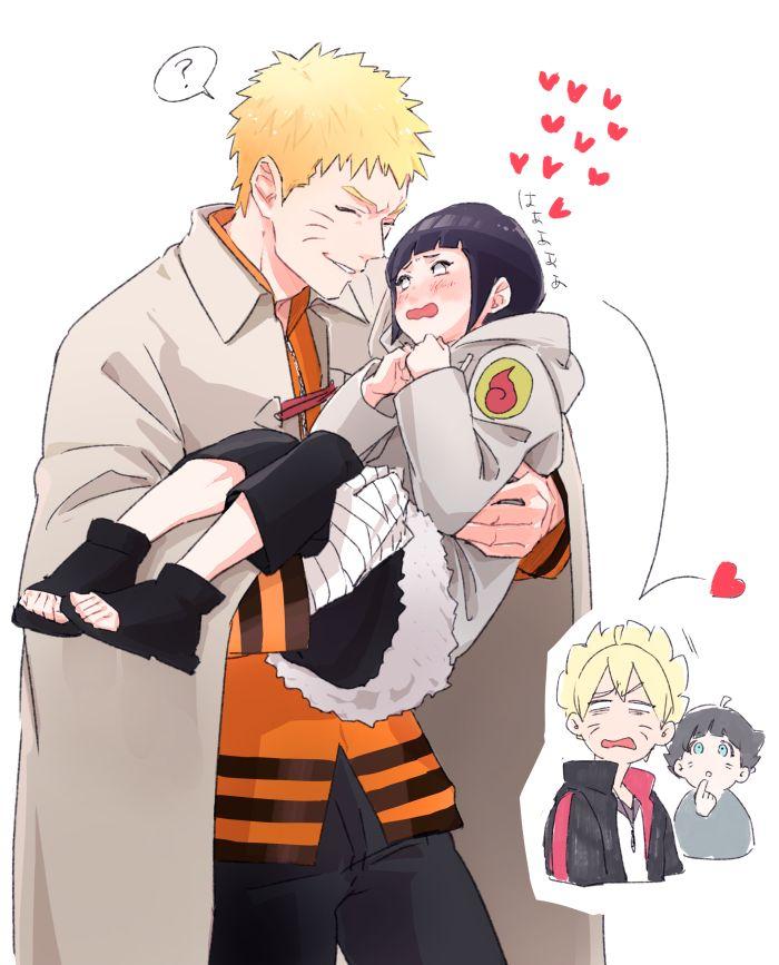 I Really Do Naruto Hinata Boruto Himawari