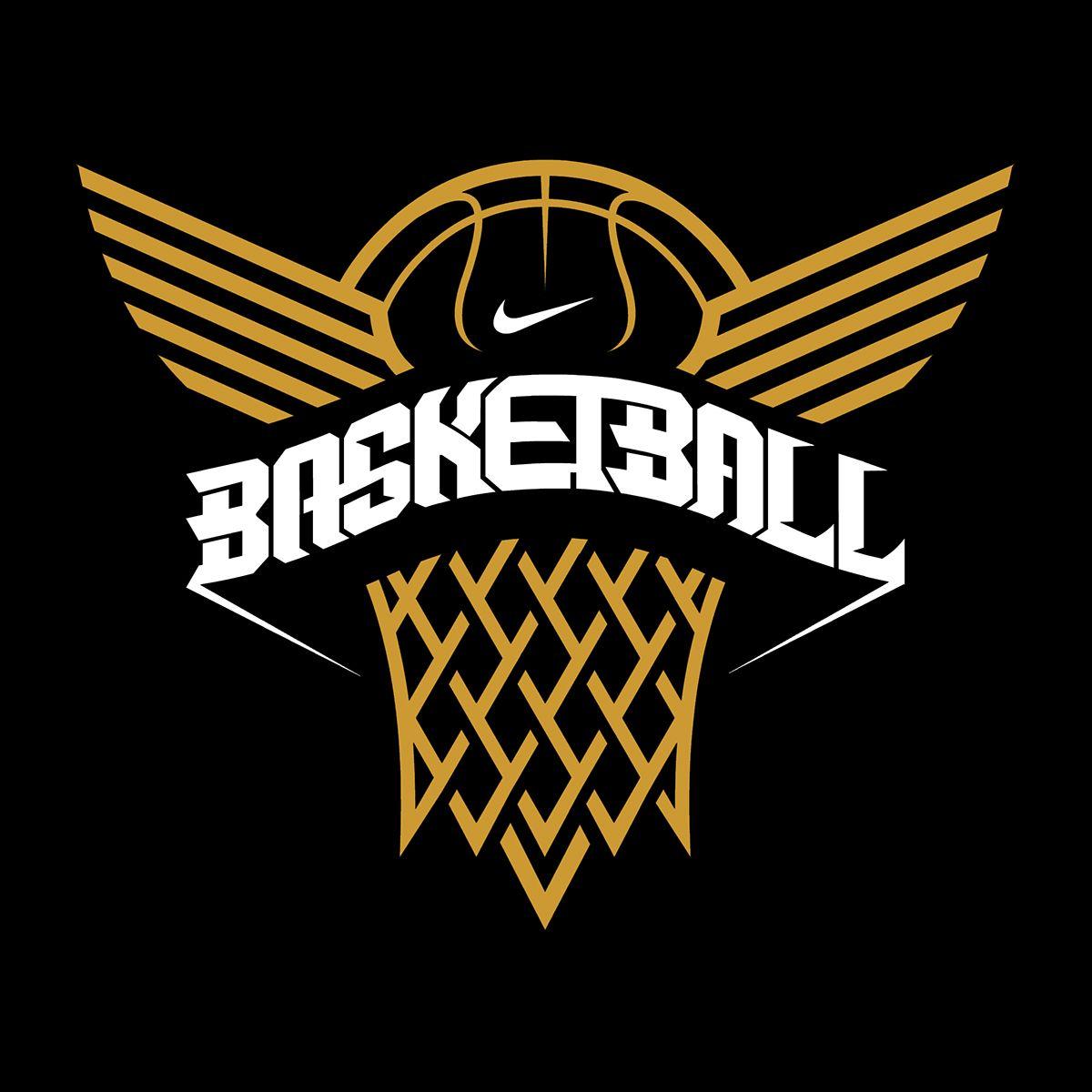 nike basketball on behance by nicolo nimor pinteres rh pinterest com basketball logo design free basketball logo design black and white