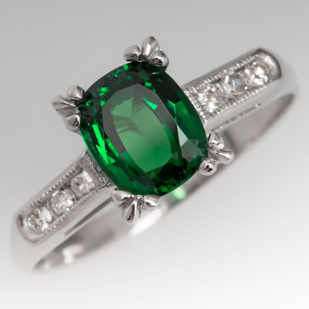 ring mali rings garnet watch youtube diamond tsavorite