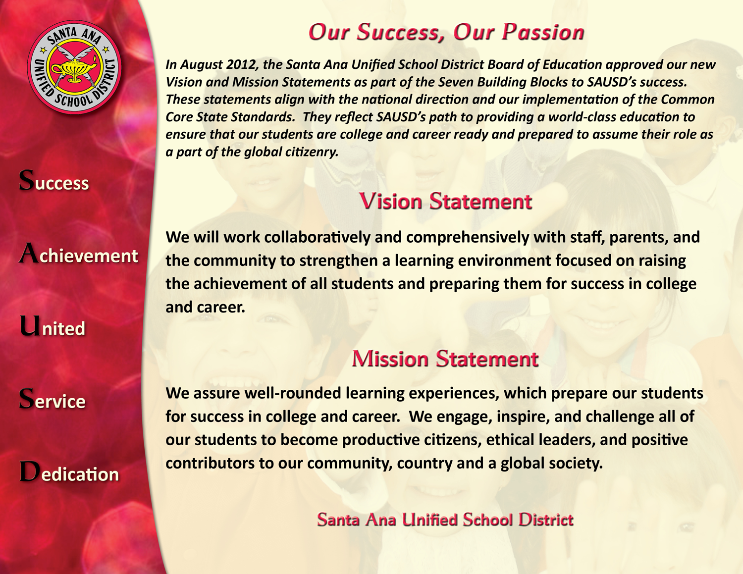 Vision Statement Example For Busines And Mission Personal Ethical
