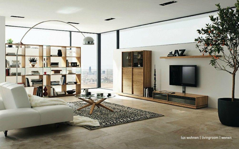 Furniture, Modern Wooden Furniture Arrangement: Neutral Elegant ...