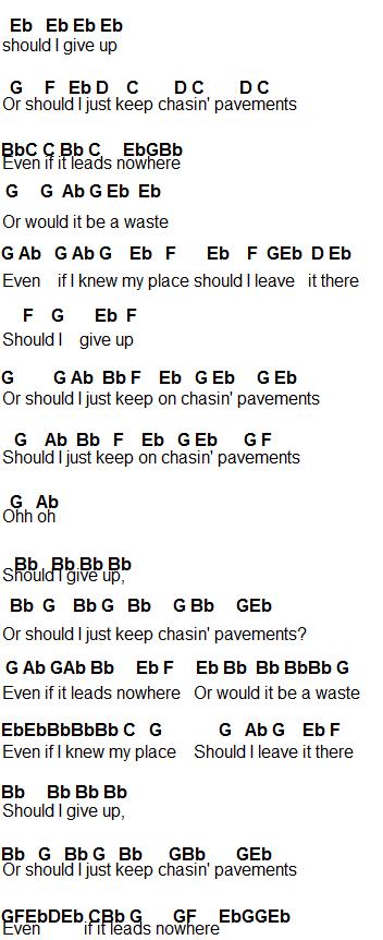 Flute Sheet Music: Chasing Pavements | Müzik | Pinterest | Chasing ...