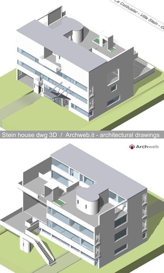 Autocad 3d House Design Software: Architettura Bauhaus