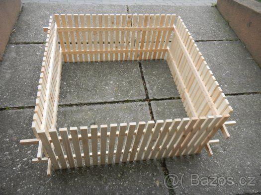 Dřevěná ohrádka - 1