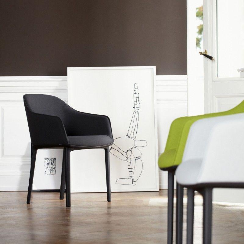 Softshell Chair Stuhl Von Vitra Bei Wohnzimmer