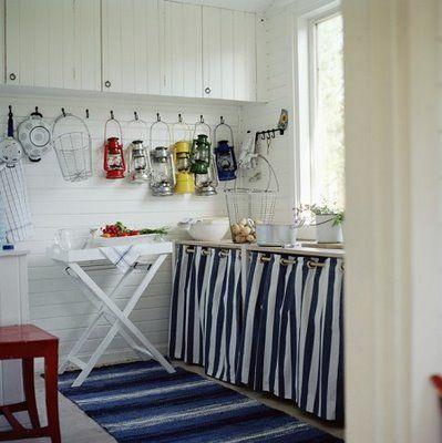 Cocinas Rusticas De Obra Cosas Para Comprar Pinterest Cocinas - Cortinas-para-cocinas-rusticas