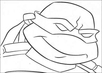 Ninja Turtle S Face Coloring Page Turtle Coloring Pages Ninja Turtle Coloring Pages Coloring Pages
