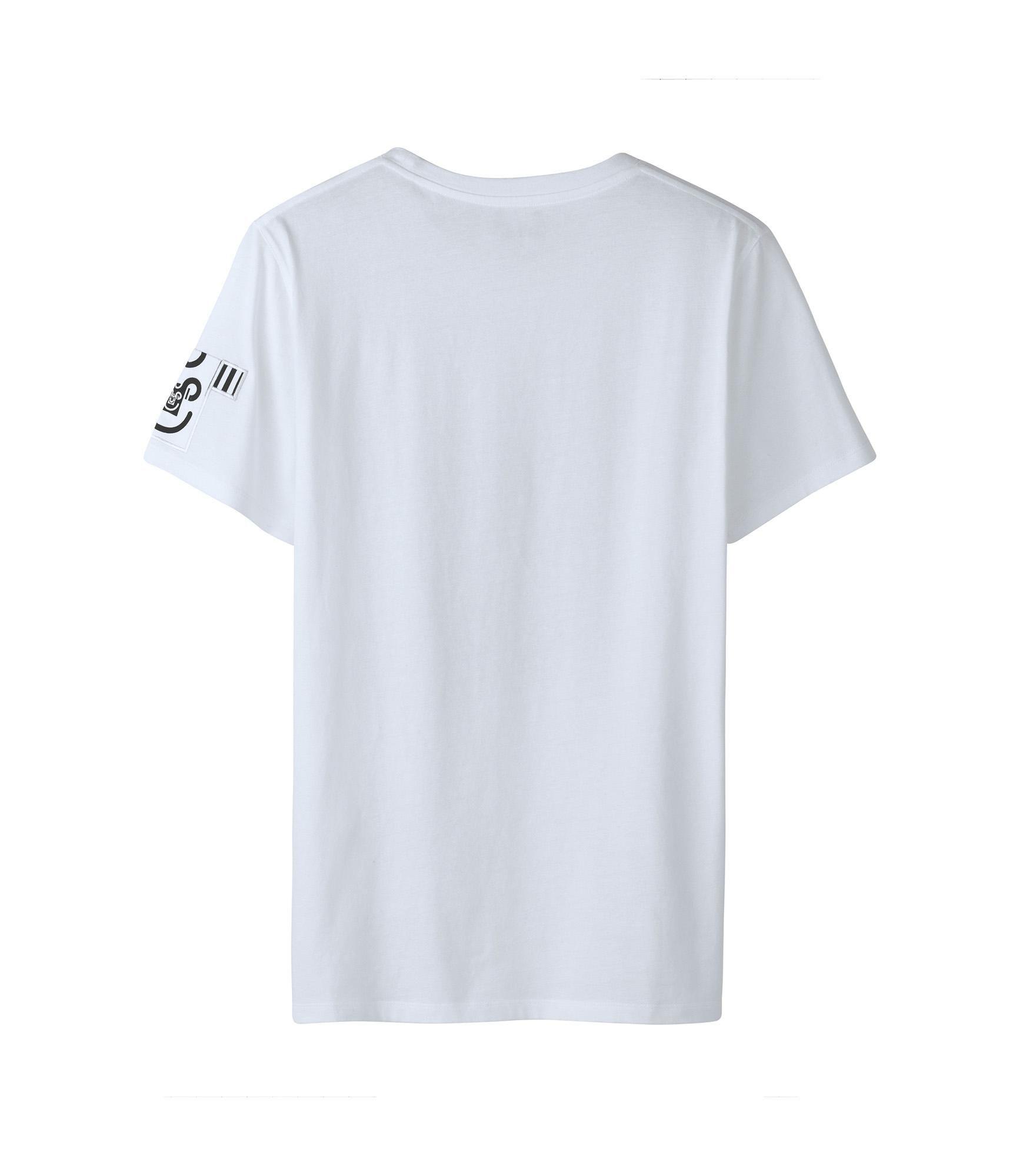 405f2e59f1b04 T-shirt M M Judith Jersey de coton. Collaboration avec M M. Encolure ...