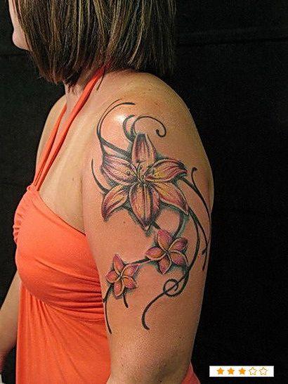 38 Lily Flower Tattoo Designs Tattoo Pinterest Lilien Tattoo