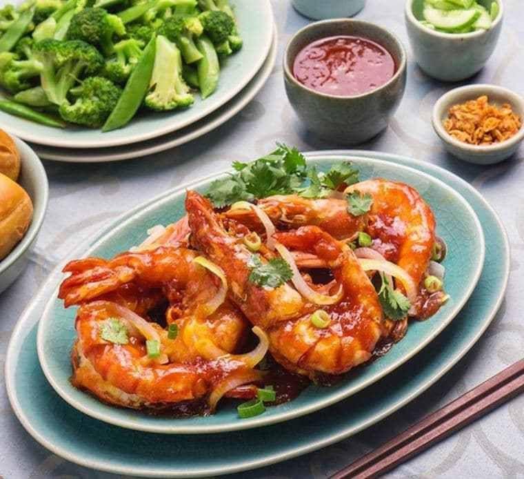 10 Resep Udang Asam Manis Enak Mudah Dan Praktis Iniresep Com Resep Udang Resep Masakan Sehat Resep