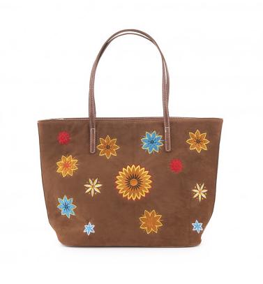 Bolso shopping flores IXOO  750547445d3