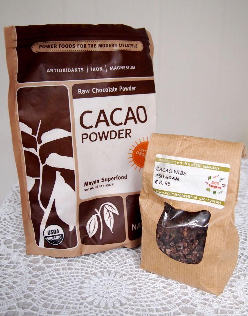Superfoods! Spirulina, hennepzaad, rauw cacao poeder, chiazaad, baobab poeder...