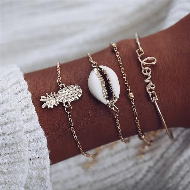 The Puka Shell Bracelet is a multi layered set to show your love for the beach. You can change from day to day, by wearing one or more of them at a time. Natural Puka Shell Chain and Rope bracelets Made of a Zinc alloy Puka Shell Meaning Hawaiians typically give puka necklaces to wish the recipient goodwill or good luck. If given to a sailor, a puka necklace is supposed to help bring him home safely. Puka shells offer their wearers the good intent and well wishes of the person who has given them