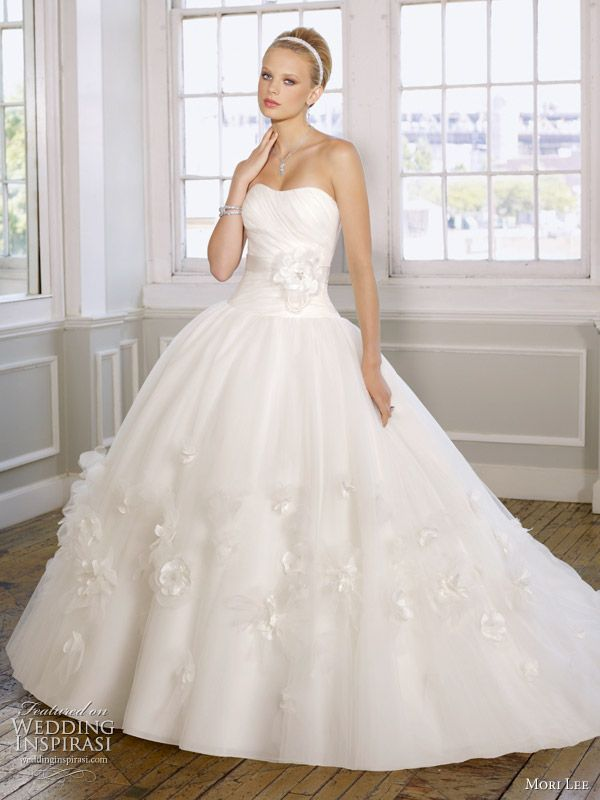 Mori Lee Wedding Gowns 2011 Bridal Collection Wedding Dress