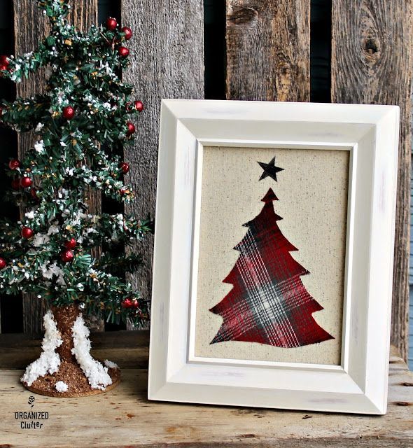 DIY Christmas Decor With Stencils as Fabric Templates
