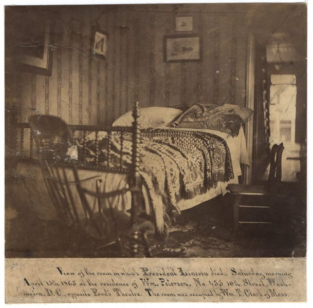 Abraham Lincoln's deathbed | The Lincoln Financial ...