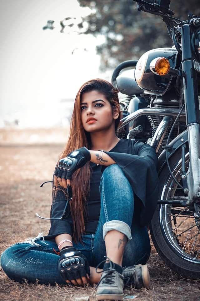 indian model girl photo