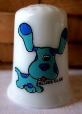 Blues Clues Porcelain Thimble