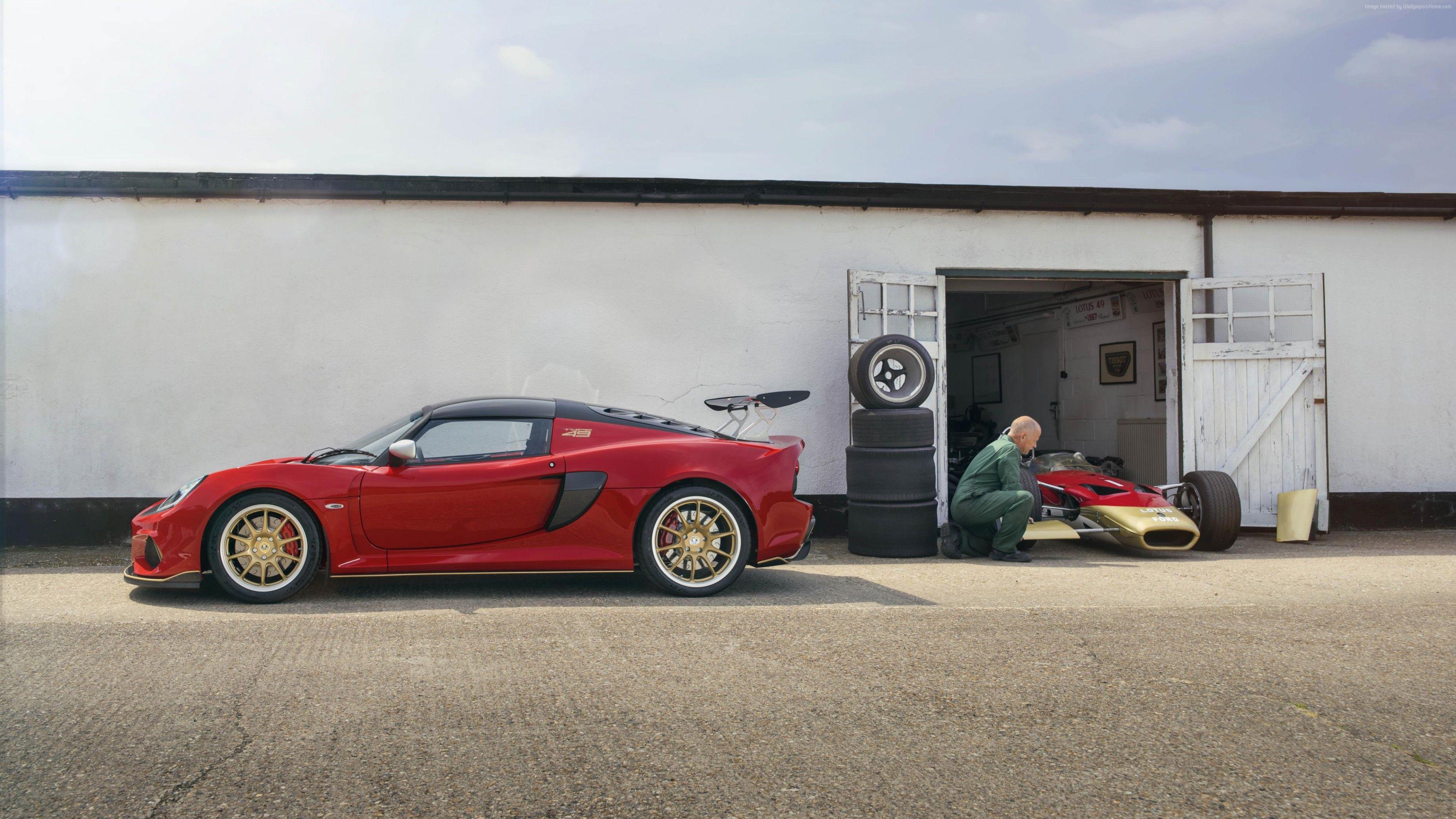Wallpaper Lotus Exige Gt Type 49 2018 Cars Supercar 4k Cars