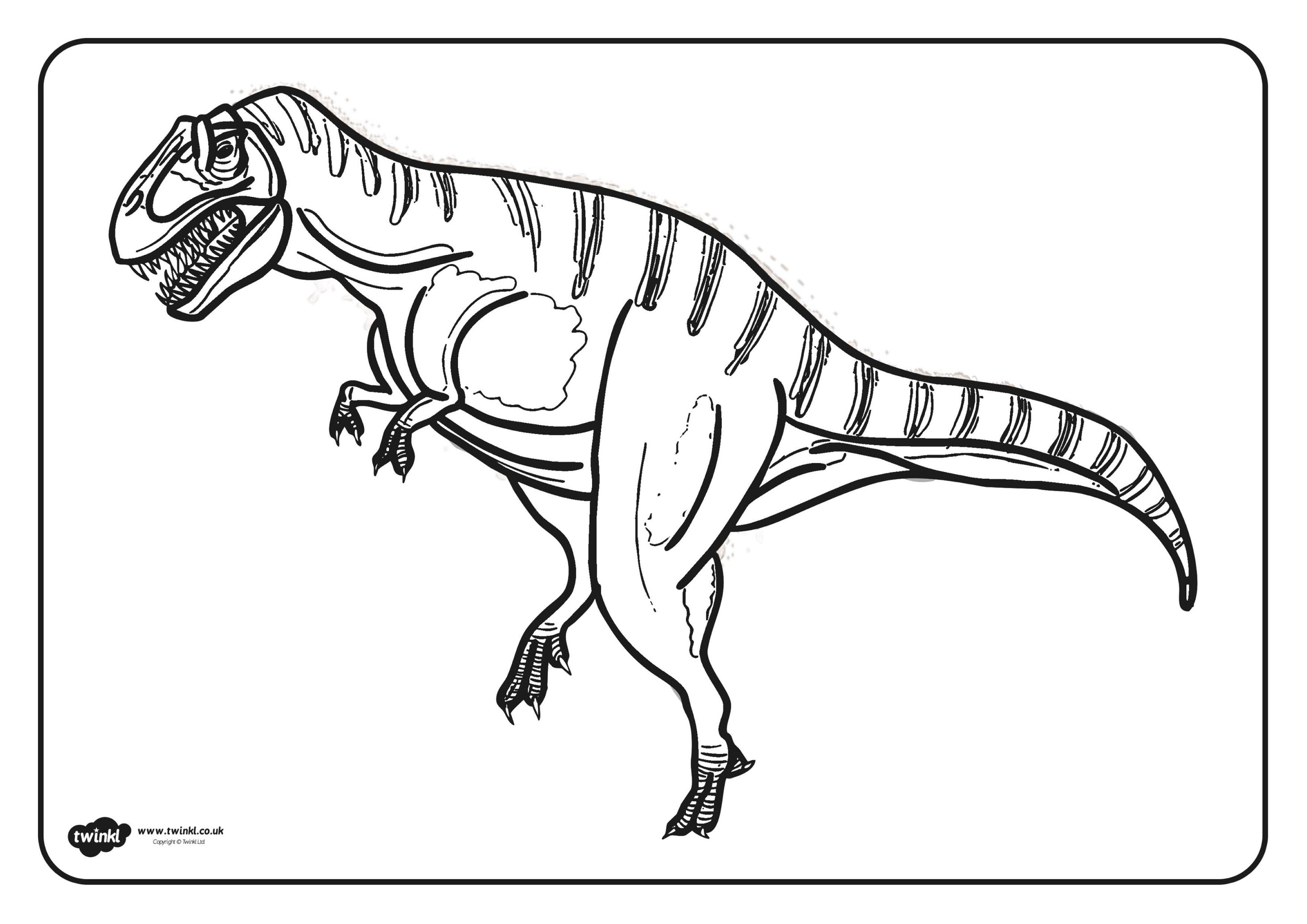 Unique Kleurplaten Dinosaurus Rex Kleurplaten