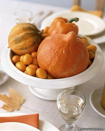 Fall Orange Arrangement