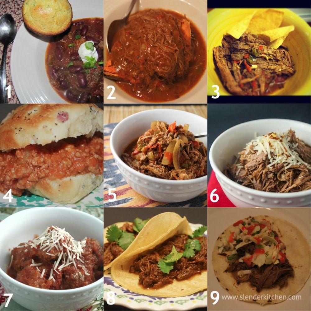 Weight Watchers Crock Pot Ideas: Sunday Slow Cooker: Beef Recipe Roundup