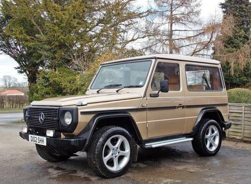 Mercedes 460 G Wagon 300GD  Rare TB Turbo Engine  For Sale (1986
