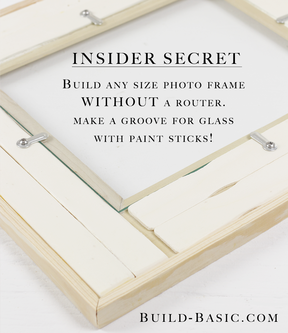 Make an easy picture frame with glass easy tricks glass and easy jeuxipadfo Image collections